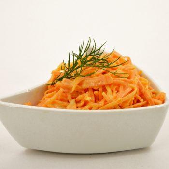 Salotos Pikantiškos morkų