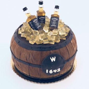 Tortas Statinė Jack Daniels